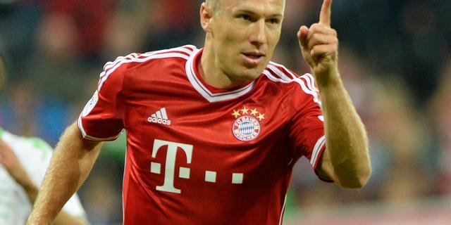Goede start Bayern door Robben