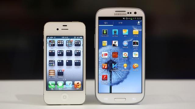 Samsung moet Apple betalen bij patentinbreuk
