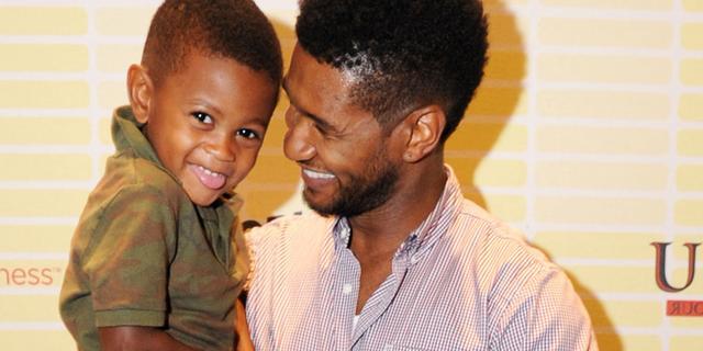Usher wint rechtszaak om zoontje