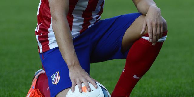 Villa debuteert met doelpunt bij Atletico