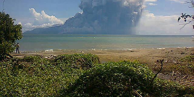 Doden bij vulkaanuitbarsting Indonesië