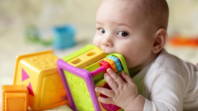 Wiskundige aanleg al te meten bij baby