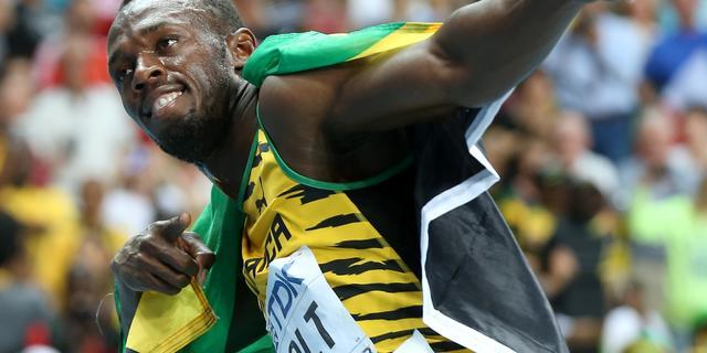 Bolt herovert wereldtitel op 100 meter sprint