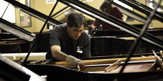 Nieuwe gegadigde voor pianobouwer Steinway