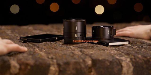 'Sony komt met opzet-camera voor smartphones'