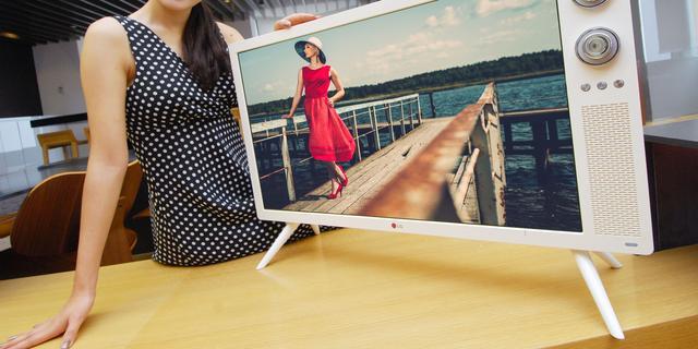 LG presenteert tv met retro-look