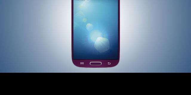 Samsung komt met paarse Galaxy S4