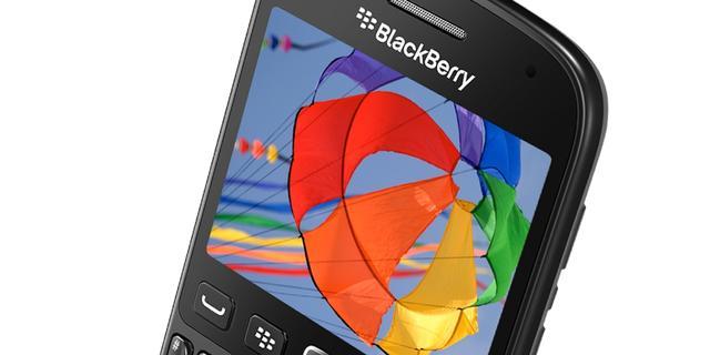 Blackberry presenteert nieuw toestel met oude software