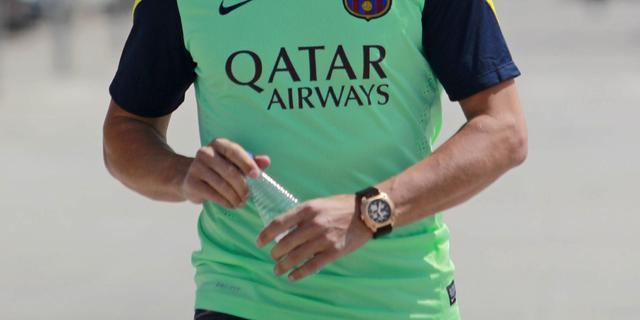 Puyol terug op trainingsveld na twee maanden afwezigheid