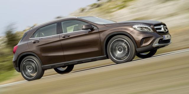 Nieuwe Mercedes GLA onthuld