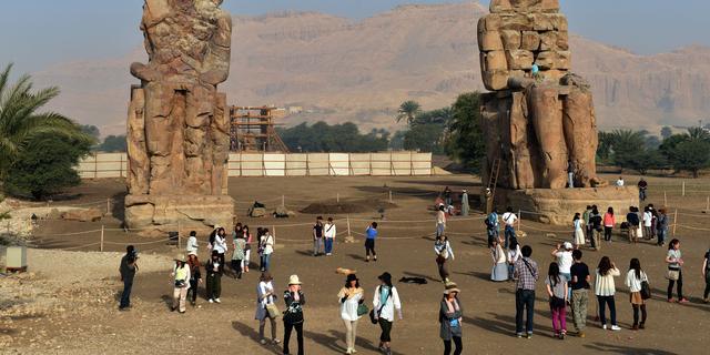Egypte opent tombes om toeristen te trekken