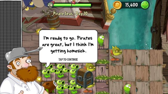 Plants vs. Zombies 2 in de herfst naar Android