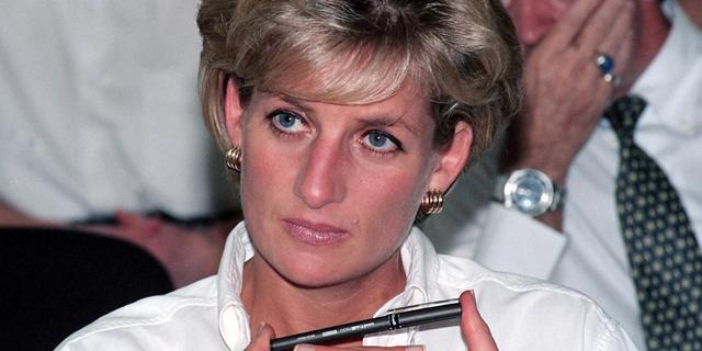 Baljurk prinses Diana wordt geveild