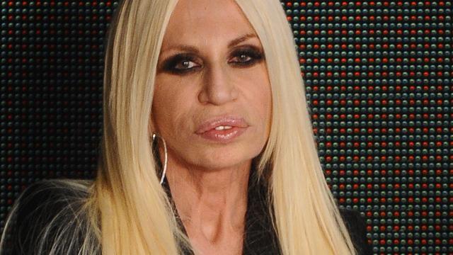 Donatella Versace wordt onzeker van werken in de modewereld