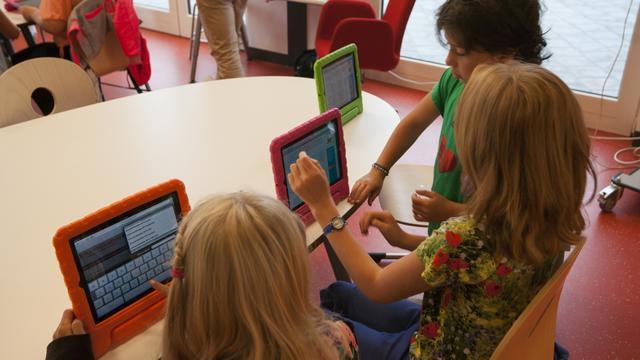 iPad-scholen openen deuren