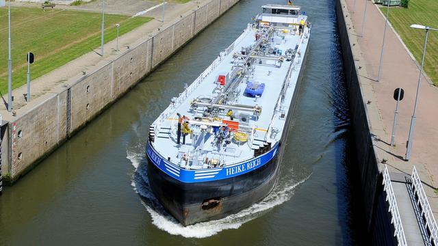 Binnenvaartvervoer in tien jaar tijd bijna 5 procent gegroeid