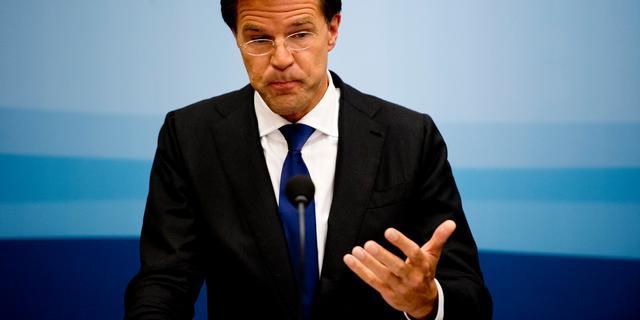 Rutte noemt veranderde verhoudingen in politiek 'spannend'