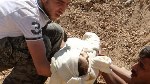 Britten vrijwel zeker dat Assad achter chemische aanval zit