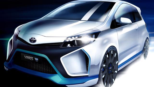 Details Toyota Yaris Hybrid-R bekend