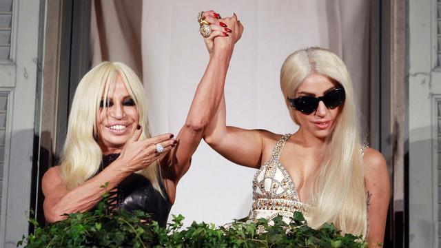 Donatella Versace is blij met nummer Lady Gaga