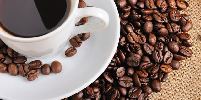 'Van koffie droog je niet uit'