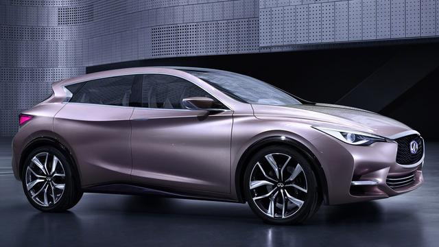 Infiniti Q30 Concept is voorbode van compacte cross-over