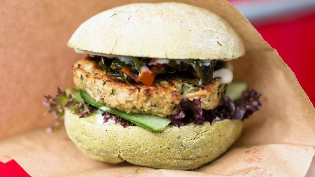 Koplopers: Hamburger van zeewier