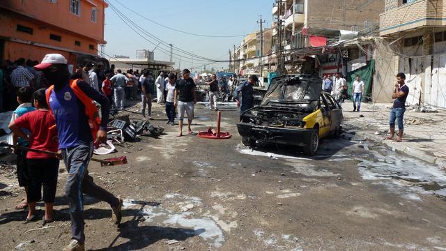 Al-Qaeda claimt aanslagen Irak