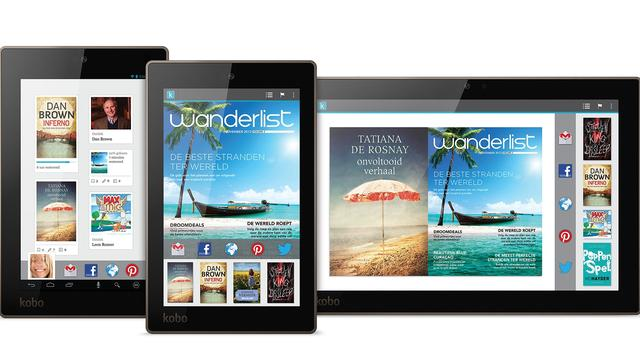 Kobo introduceert full hd-tablets en nieuwe e-reader