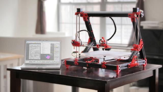 Gmax 3d-printer biedt grote capaciteit voor lage prijs