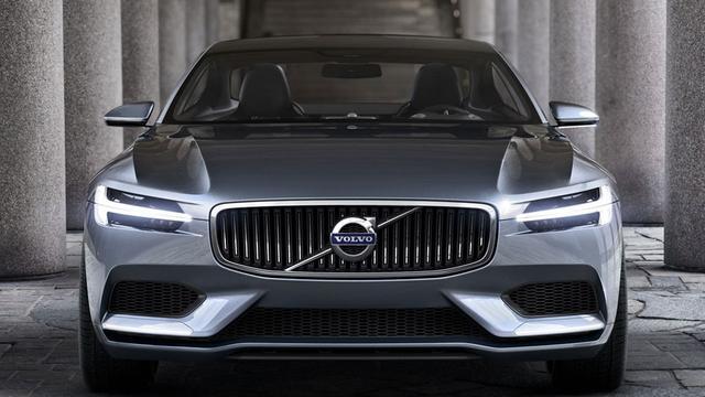 Volvo Concept Coupe blikt vooruit op toekomstige modellen