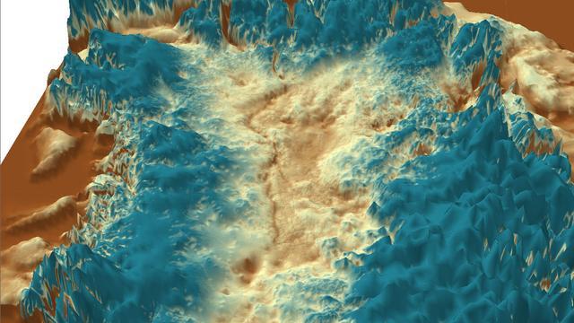 Kloof ter grootte Grand Canyon ontdekt op Groenland