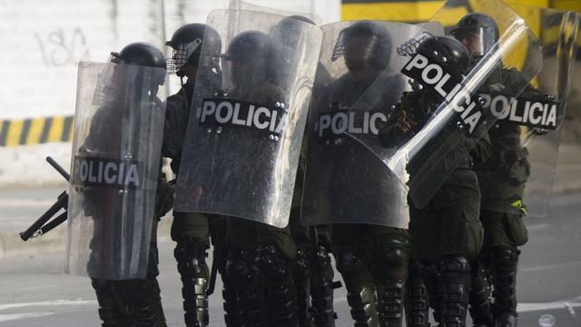Legerpatrouilles in hoofdstad Colombia