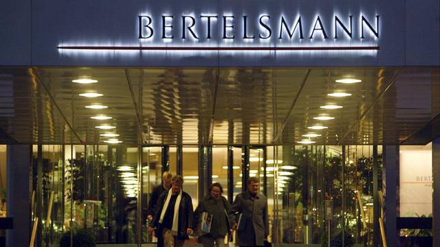 Omzet Bertelsmann stijgt tot boven 12 miljard euro