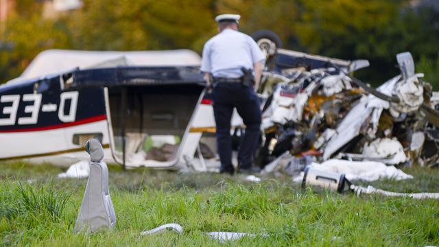 Tanks verongelukt vliegtuig waren leeg