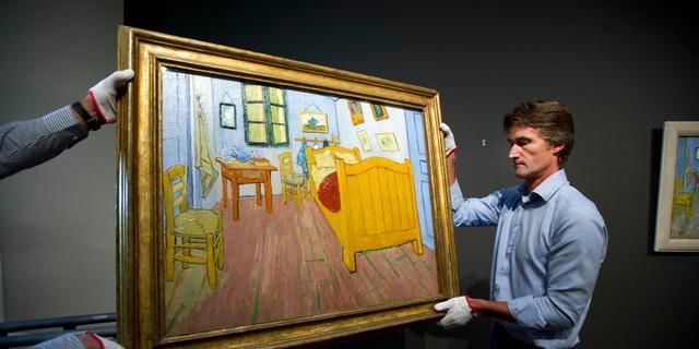 Nagemaakte 'Slaapkamer' van Vincent van Gogh te huur op Airbnb