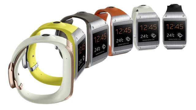 Galaxy Gear-horloge werkt alleen met Samsung Galaxy-toestellen