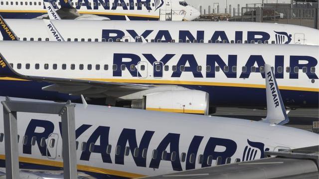 Ierse piloten van Ryanair gaan mogelijk in de zomer actievoeren