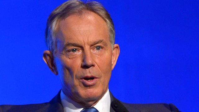 Blair ziet oorlog niet als oorzaak huidige situatie Irak