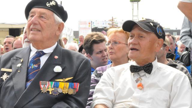 Veteranen herdenken strijders Indië en Korea