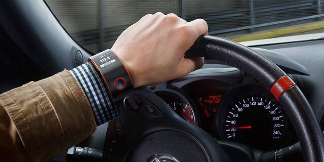 Nissan onthult smartwatch voor autorijden