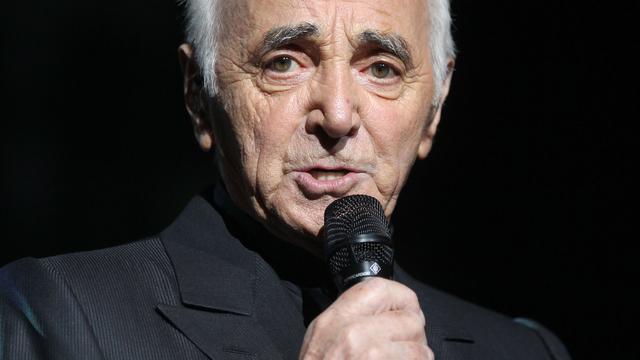 Aznavour viert negentigste verjaardag in Duitsland