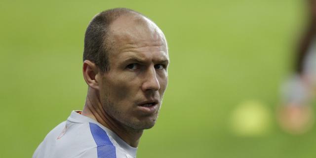 Robben traint al weer bij Bayern