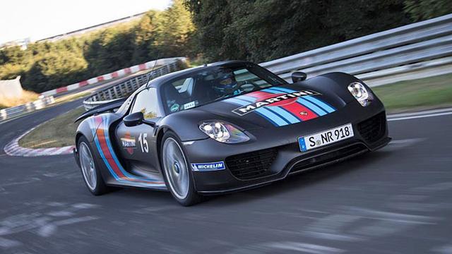 'Porsche 918 is bijna uitverkocht'