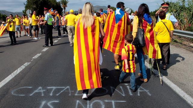 Catalonië zet referendum door ondanks verbod