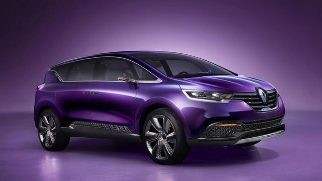 Nieuwe Renault Espace verschijnt op internet