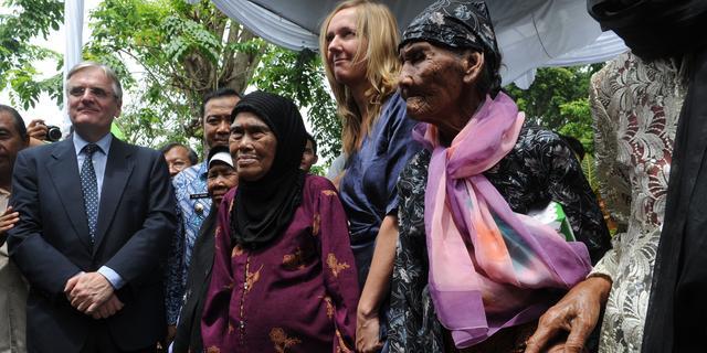 Staat keert schadevergoeding weduwen Sulawesi uit