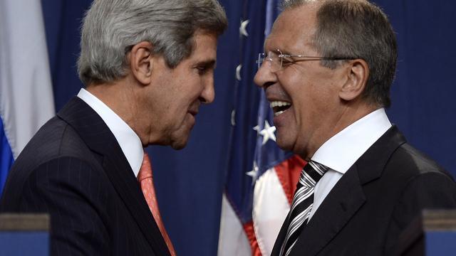 Rusland en VS akkoord over resolutie Syrië