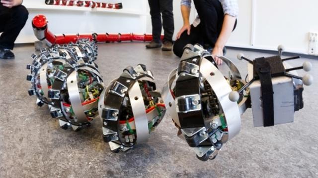 Wetenschappers willen robotslang naar Mars sturen