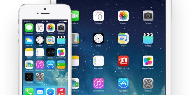 'iOS 7 staat al op 35 procent iPhones en iPads'